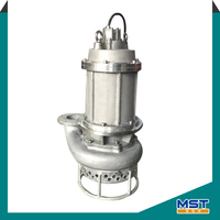 A05 abrasive solids centrifugal submersible sewage pump