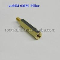 M3 20MM 6MM Copper Pillar