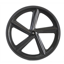 2014 newest 700C Full carbon clincher five spokes for road bike or truck bike/