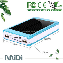 Solar Battery Chargers 50000mAh Portable USB Solar Energy Panel Power Bank / inverter charger solar panel