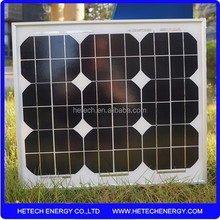 the solar panel 25w mono from China factory