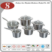 12Pcs New products colorful korean cookware set