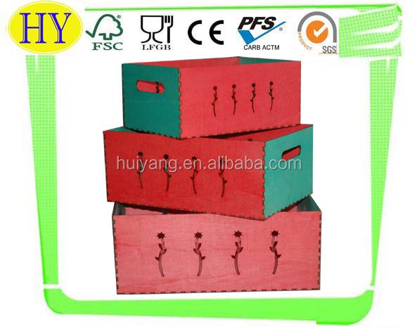Clássico oca caixa de madeira à venda