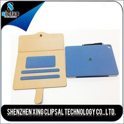 High quality wallet case for ipad air 2, for ipad case, for pu leather ipad 6 case