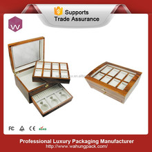 New design large wooden watch & jewelry box(WH-3898-JP)