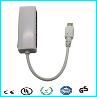 No need driver female lan port to micro usb to rj45 for mobile phone