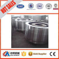 Industrial Steel Casting Support Roller for Rotary Kiln