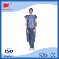 PP / PP+PE / SMS protective sterile disposable surgical gown