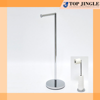 Solid Round Base Freestanding 3 Rolls stored Toilet Paper Holder