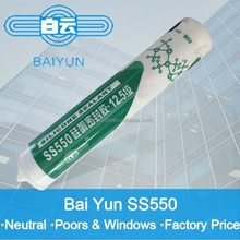 Silicone sealant for window frame joint sealing