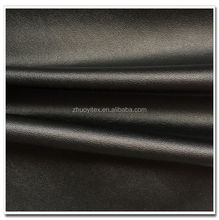 high quality PU bonded with velvet wholease artificial leather