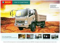 CDW 4x2 dump truck 8 ton