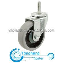 grey fix rubber caster