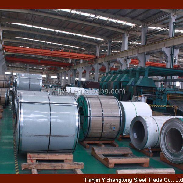 Acero inoxidable laminado en caliente bobinas de acero 304 316 201 430 310 S