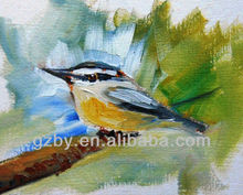 Play Game Angry Birds Hand Painted Oil Painting