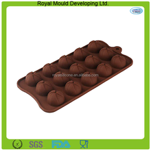 Novelty design steamed dumplings round shape chocolate making molds,silicone molds for chocolate,mini cupcake baking tray