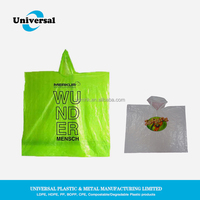 High quality plastic rain ponchos