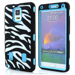 Robot Zebra Hybrid Hard Mobile Phone Cover Case For Samsung galaxy note4