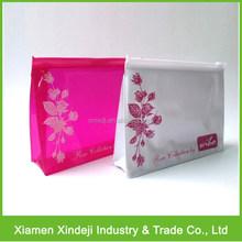 Clear PVC Zipper Bag/ Vinyl Zipper Bag For Cosmetic