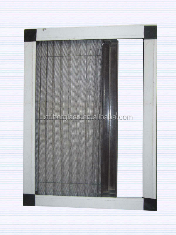 Factory of retractable fly screens retractable mosquito for Roll up insect screens for windows
