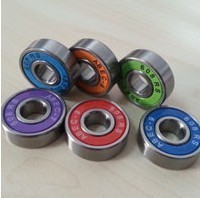 High speed deep groove ball bearing for skate bearing
