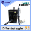 Quick 857 high frequency lead free mobile phone use hot air smd rework station