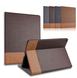 Hot sale PU+PC smart cover case for ipad pro,flip smart leather cover for ipad pro 12.9inch