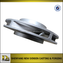 Customized investment casting stainless steel pump impeller