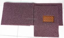 Double color nail backing pvc coil cat foot mat car carpet car floor mat non skid car mat