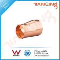 T509 Factory price large size copper pipe fitting eccentric reducer types