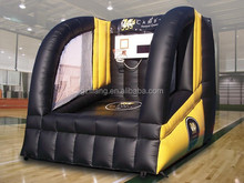 outdoor amusement basketball inflatable game