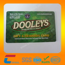 pvc gift card offset printing fast delivery