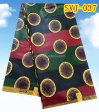 2015 new product cotton real wax java print fabrics SVJ-037