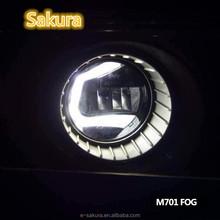 Car style LED DAYTIME LIGHT FOR SORENTO 2015, LED DRL FOR SORENTO FOG LAMP fog light glass