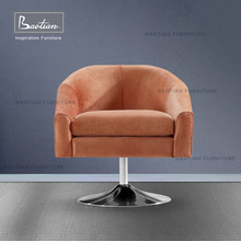 Baotian Furniture hot sell modern swivel leisure chair