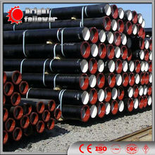 PN10 DCI pipe with standard wall thickness