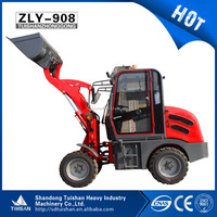 ZL08 european type farm traktor mini front radlader for sale