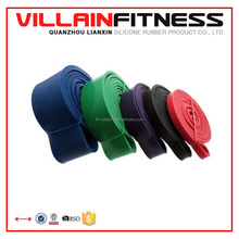 Latex power lifting bands for crossfit
