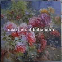 Wholesale handmade oil painting of flower