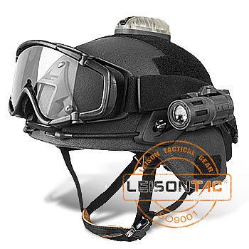 NIJ IIIA Kevlar Ballistischen/Kugelsichere Helm Set mit Kamera