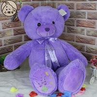 Gaint purple teddy bear with good quality and reasonable price ,teddy bear miniontoys