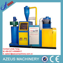 99% Copper purity 0.5-20mm waste copper cable granulator machine/scrap copper wire recycling machinery