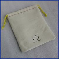 Custom organic cotton string bag