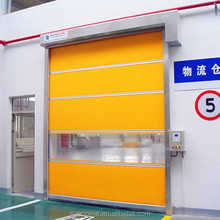 English man interface 1.2mm thick pvc automatic fast roller door