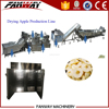 Industrial cheap price fruit dehydration plant for dried apple process machines