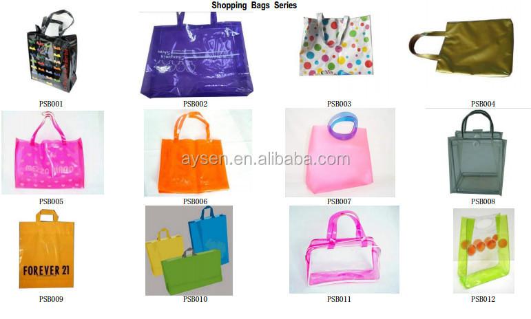 Barato saco pacote de PVC / PVC transparente saco / saco de plástico