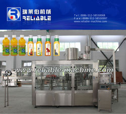Rotary Type Automatic PLC Control Tea Filling Machine, Juice Bottling Machine