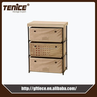 Tenice clothes diy 4 drawer corner storage cabinet chest