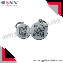OEM QR code Pet ID tags, Smart ID tags wholesale