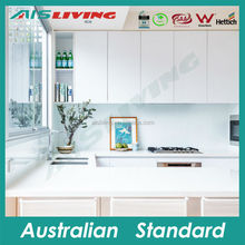 modern white mat laquer kitchen cabinet cupboard with SAA approval electrical appliances